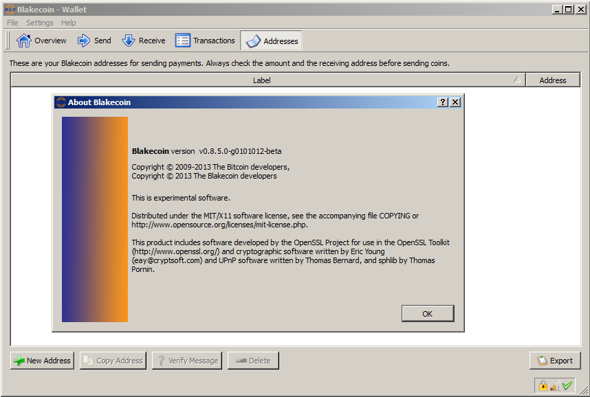 Software – Blakecoin